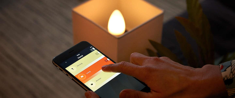 Philips komt met Hue Candle voor decoratieve armaturen