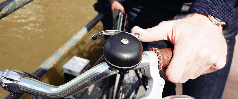 Met deze slimme fietsbel eenvoudig je fiets terugvinden