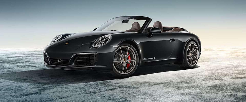 Nieuwe Porsche: 911 Carrera S Cabriolet met houten interieur