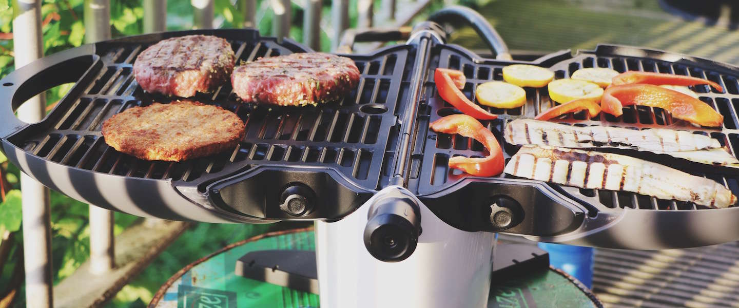 Portable barbecue op gas: nomadiQ