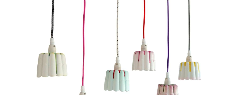 Grappig: deze lampjes hebben de vorm van een pudding!