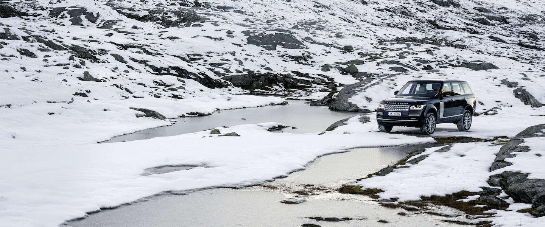 Geweldige fotoserie met Range Rover in Noorwegen