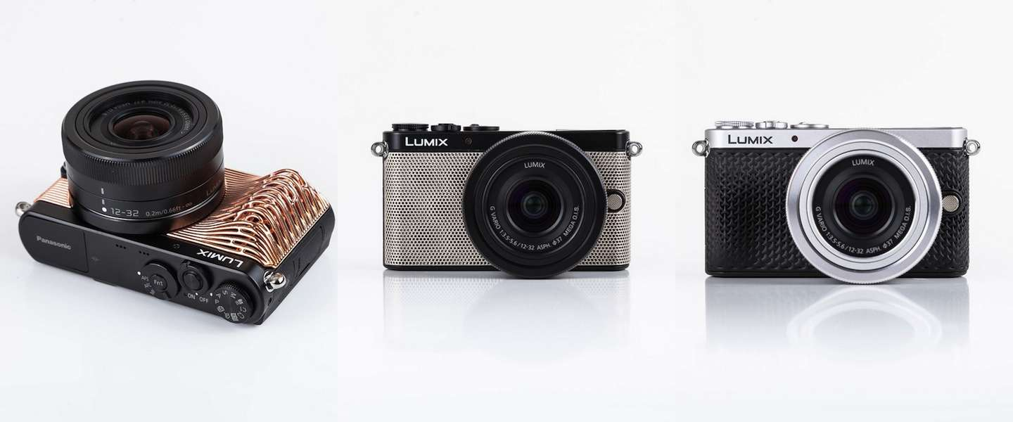 Panasonic komt met 3D-geprinte camera covers