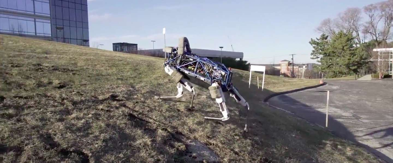 Boston Dynamics presenteert robothond Spot