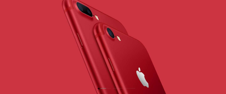 Apple komt met rode iPhone 7 en je kunt hem nu kopen