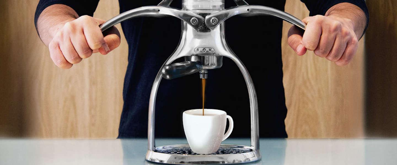 Stijlvol koffie zetten met de ROK espresso maker