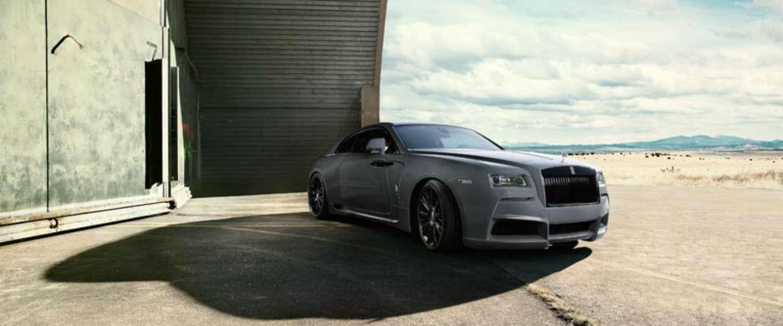 Geweldige auto: de nieuwe Rolls-Royce Wraith