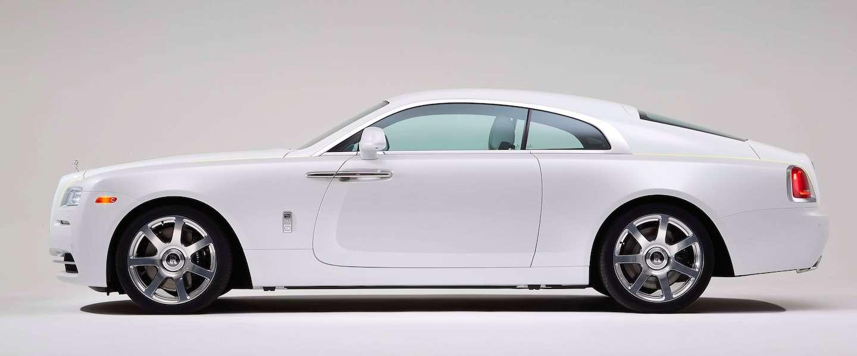 Voor de nieuwe Rolls-Royce 'Wraith - Inspired by Fashion' heb je geen tekst nodig