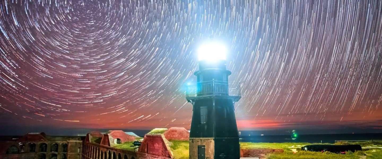 Sensationele timelapse van de sterrenhemel van Key West