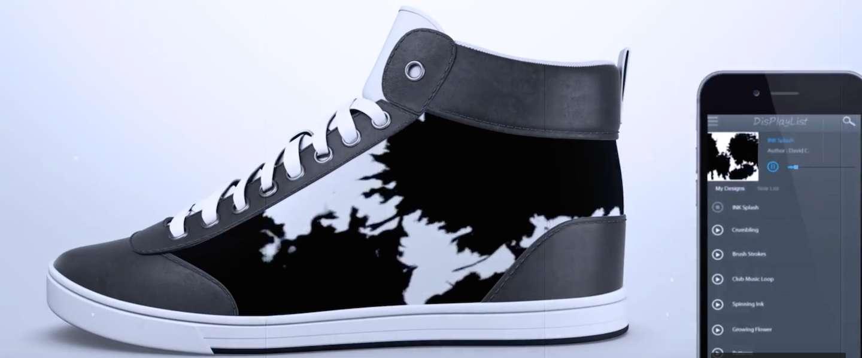 Het design van je sneaker veranderen met een app