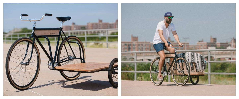 De fiets die iedere man wil hebben: Horse Sidecar Bicycle