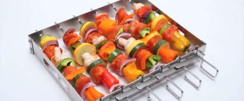 Tip! SkeweRack: makkelijk en veilig BBQ'en en grillen