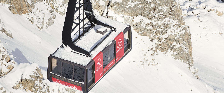 De nacht doorbrengen in een skilift op 2.700 meter hoogte