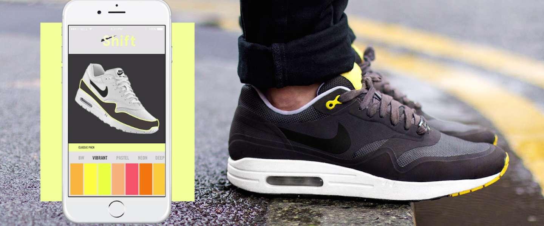 De sneaker van de toekomst die verandert van kleur