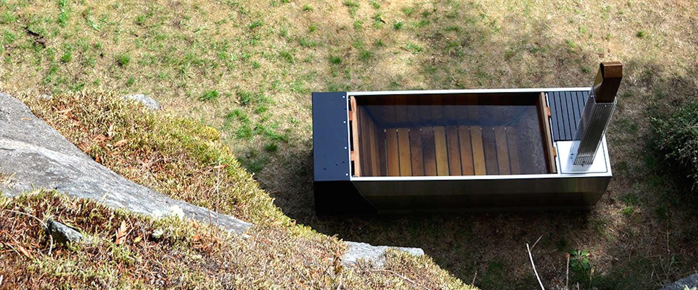 SOAK wood: hot tub en houtkachel in één