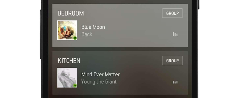 Sonos verbetert Sonos Controller-app aan de hand van feedback!