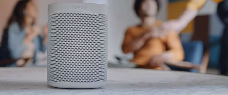 Sonos One: Spraakbesturing in je speaker gebouwd