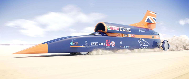 Fast en furious: auto moet 1.600 km/u halen!