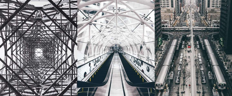 10 gave symmetrische foto's van Instagram
