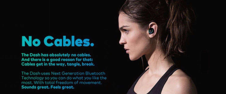 Dash is geheel nieuw op de markt voor wearables