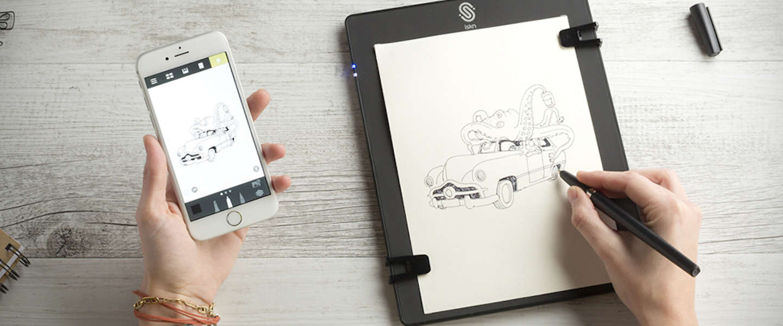 Al je notities en tekeningen digitaal verzamelen met The Slate