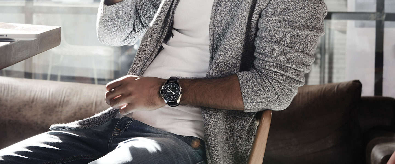 De stijlvolle en nieuwe Titan JUXT Smart Watch