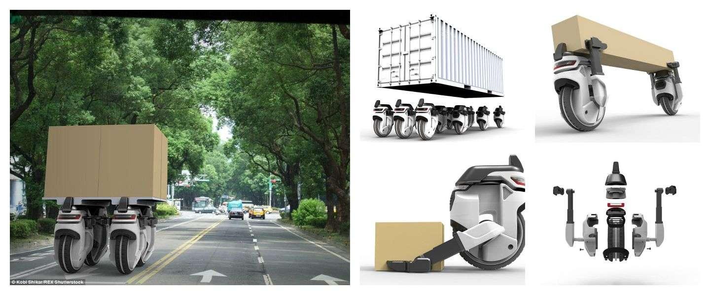 Transwheel: bezorgen door middel van drones
