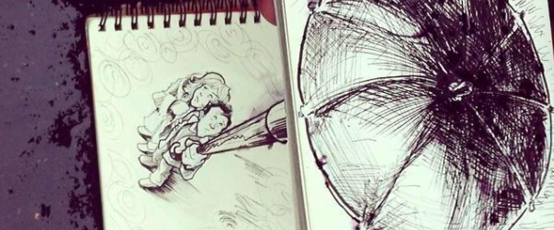 De Franse Troqman brengt cartoons en realiteit samen op bijzondere manier!
