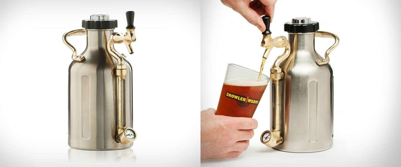 Leuk voor de vrijmibo: stijlvolle biertap van Ukeg Growler