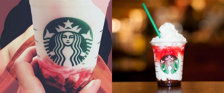 Starbucks heeft een Vampire Frappuccino voor Halloween!
