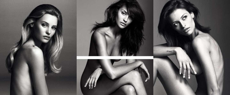 Deze Victoria's Secret-modellen poseren naakt voor de lens!