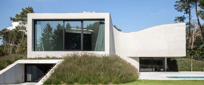Een kijkje in een superdeluxe villa in België