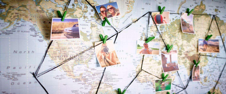 Vijf stijlvolle wereldkaarten voor iedere kamer