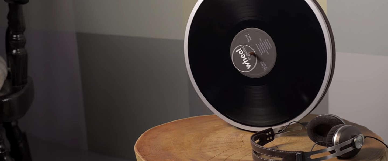 Wheel: de meest minimalistische manier om platen te draaien