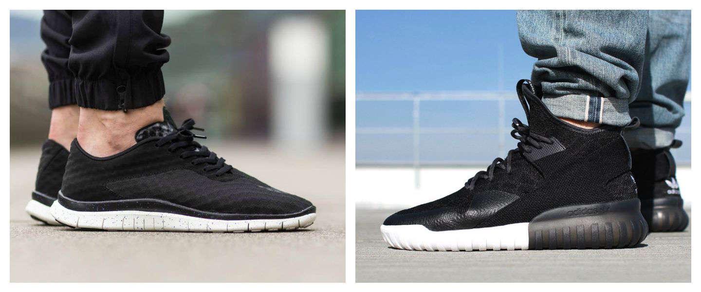 5 leuke zwarte sneakers voor mannen
