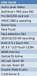 2011apr04 KA DC sony 3D handycam techspec