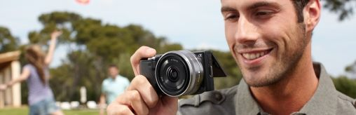3D-update voor Sony NEX-5 en NEX-3 digitale camera's