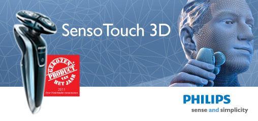 [Adv] Sensotouch 3D: Ervaar Philips' meest geavanceerde scheren ooit