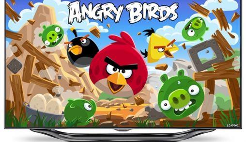Angry Birds voor Samsung Smart TV