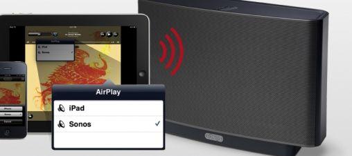Apple AirPlay beschikbaar voor Sonos
