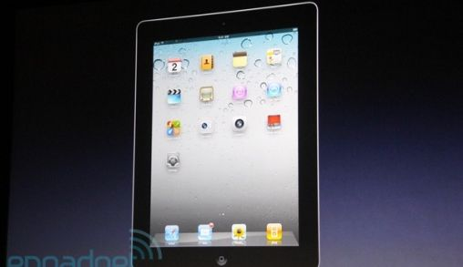 Apple kondigt de iPad 2 aan