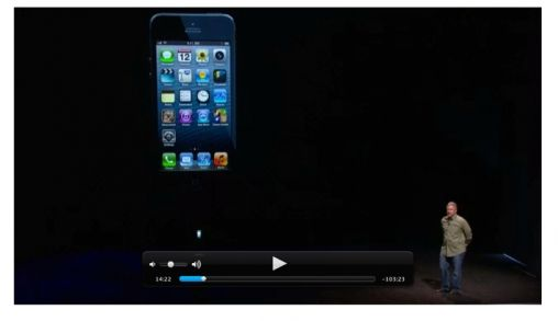 Apple publiceert video iPhone 5 event