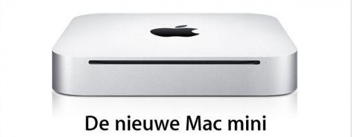 Apple's vernieuwde Mac mini