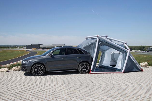 Audi-tent-kofferbak