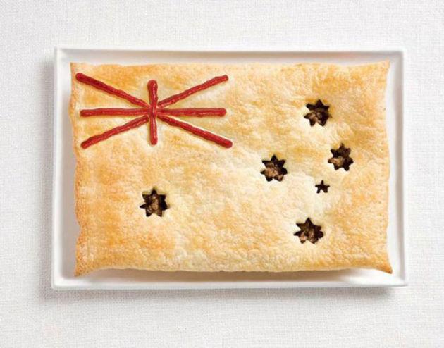 Australian-pie-vlag