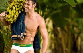 Bananenslip voor Trendy Mannen