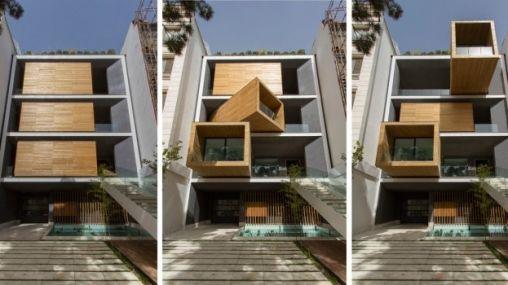 Bijzonder: dit huis heeft roterende kamers!