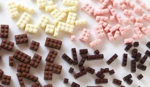 Blokjes LEGO gemaakt van chocolade!!