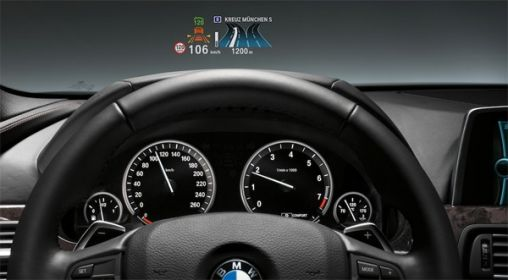 BMW 3 Serie Full-color heads-up scherm als Optie
