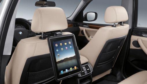 BMW komt met iPad houder